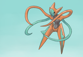 Deoxys by Psidra