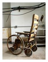 old wheelchair by J-Oliver