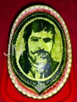 Watermelon Carving - Stanislaw Wyspianski by jolabrodnica
