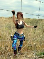 Nevada Tonner Lara Croft 11 by Laragwen