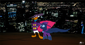 Darkwing Duck And Mysterious Mare Do Well by pikachuandpichu106
