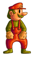 For the Mario 128 Collab by Green-Mamba
