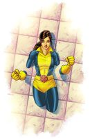 Kitty Pryde Illustration by MatthewWarlick