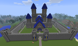 Minecraft: Castle W.I.P. by CJ64