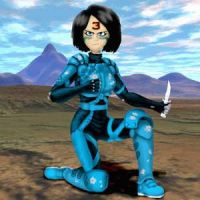 Gally Replicant 3 by nick15