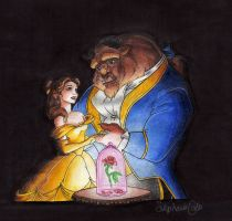 Beauty and the Beast by animeartist67