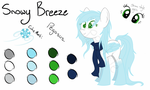 Snowy Breeze Reference Sheet 2015 by Spartkle