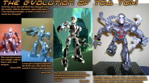 Toa Tom Evolution by ToaTom