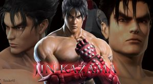 JIN KAZAMA_My New Wallpaper ^_^ by Trix92