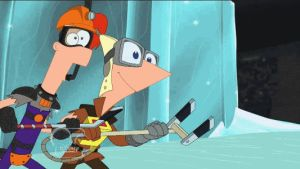 Isabella Defends Phineas - On Ice (animated) by jaycasey