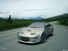 Nissan 300 zx tuned 8 by cipriany