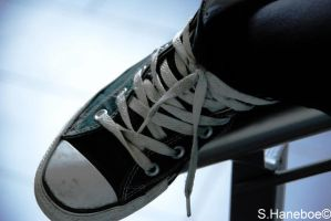 The converse shoe 2 by haneboe