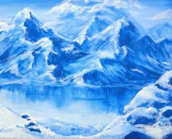 A Lapse in Glacial Pursuits by Mivala