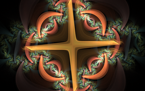 cross with pattern by Andrea1981G