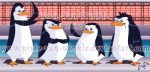The Penguins of Madagascar by Pixie-van-Winkle