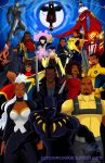 Super Heroes of Color by racookie3