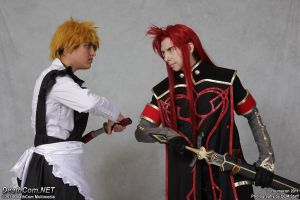 Youmacon 2011: Good Maid Guy and Asch Battle by Ritzy-kun
