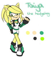 Taiya's new design by Kellkie