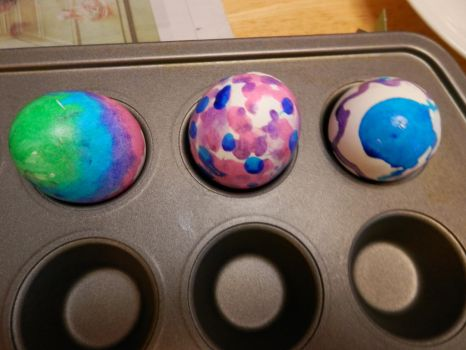 Painted Easter Eggs by actipton80