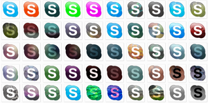 50 skype dock icons by tonev