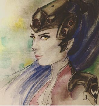 Widowmaker by SeraphinaDawn