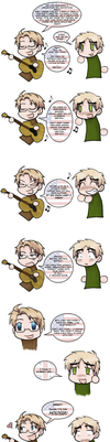 APH- A Song to Tell You My Feelings by The-Ghost-Writer