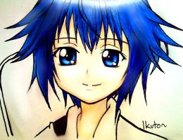little Ikuto-cute!! *_* by Lanfear96