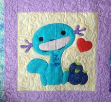 Wooper Quilt - Berry Block by GraycilynTalor