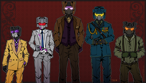 Combaticons: dangerous men by NuclearStarlight