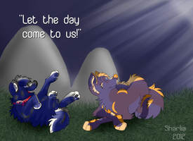 Let the day come to us by Sharlia