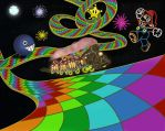 (N64) Rainbow Road by NY-Disney-fan1955