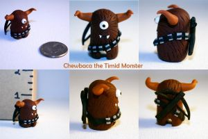 Chewbaca the Timid Monster by trupinys