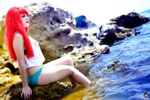 Princess Ariel in Real Life by HoroVonKaida