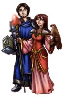 Collab: Celia and Therigon by 77Shaya77