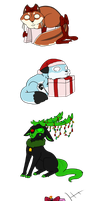 Christmas gifts by ChibiCorporation