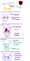 .:Homestuck Troll Family Meme:. by Zalehard13