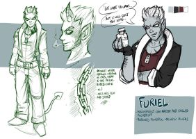 Character Ref' - Furiel by EMP-83
