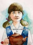 portrait of lil girl by young920