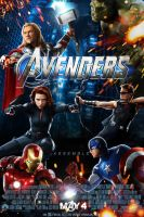 The Avengers poster by DComp