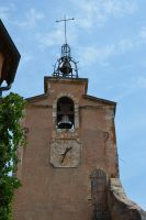Tower bell church of ROUSSILLON by A1Z2E3R