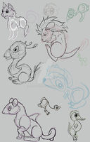 Creature Batch 2 by smudge-92