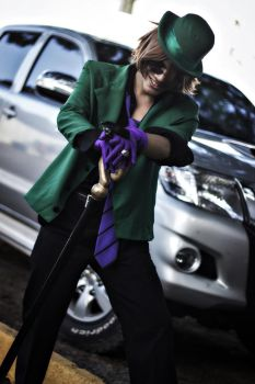 The Riddler - Riddle Me This! by DashingTonyDrake
