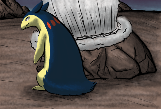 Typhlosion Territory by WolfKat777