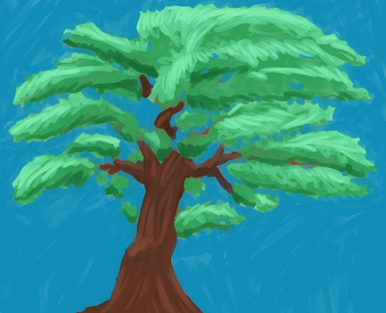 Tree Painted by cesarkohl