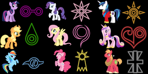 My little Pony crests by Kanske-2099