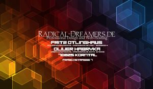 Radical-Dreamers... Business Cards [Back] by TodesBrot