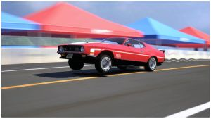 Ford Mustang Mach 1 '71 by HAYW1R3