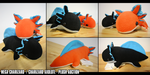 AXOLOTL PLUSH AUCTION | [MEGA] CHARIZARD THEME by heilei