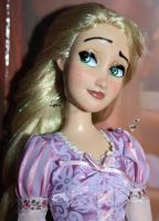 Disney Rapunzel Doll Repaint   NOW ON EBAY! by claude-on-the-road