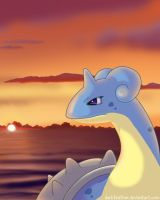 Lonely Lapras by DarkFeather